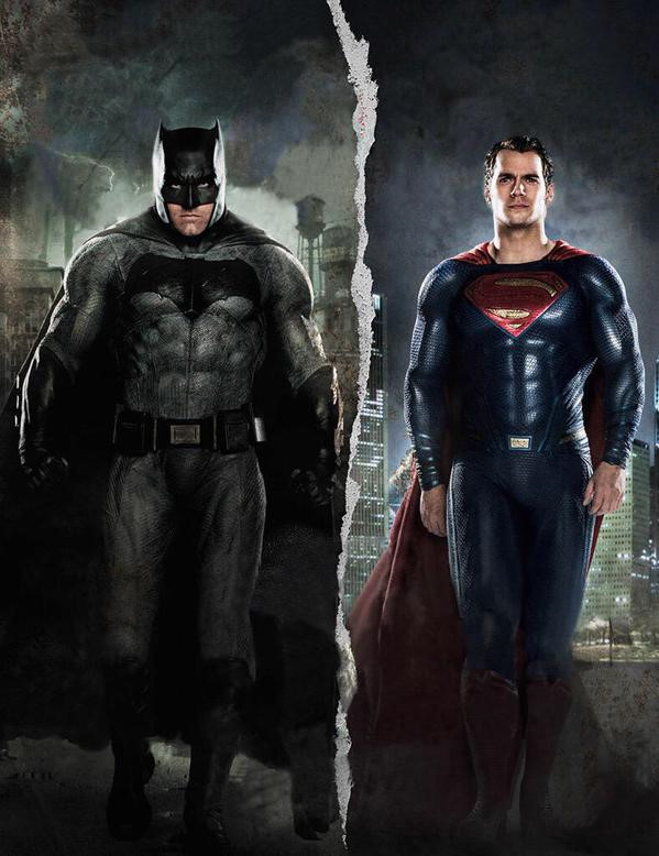 Hình ảnh Superman và Batman