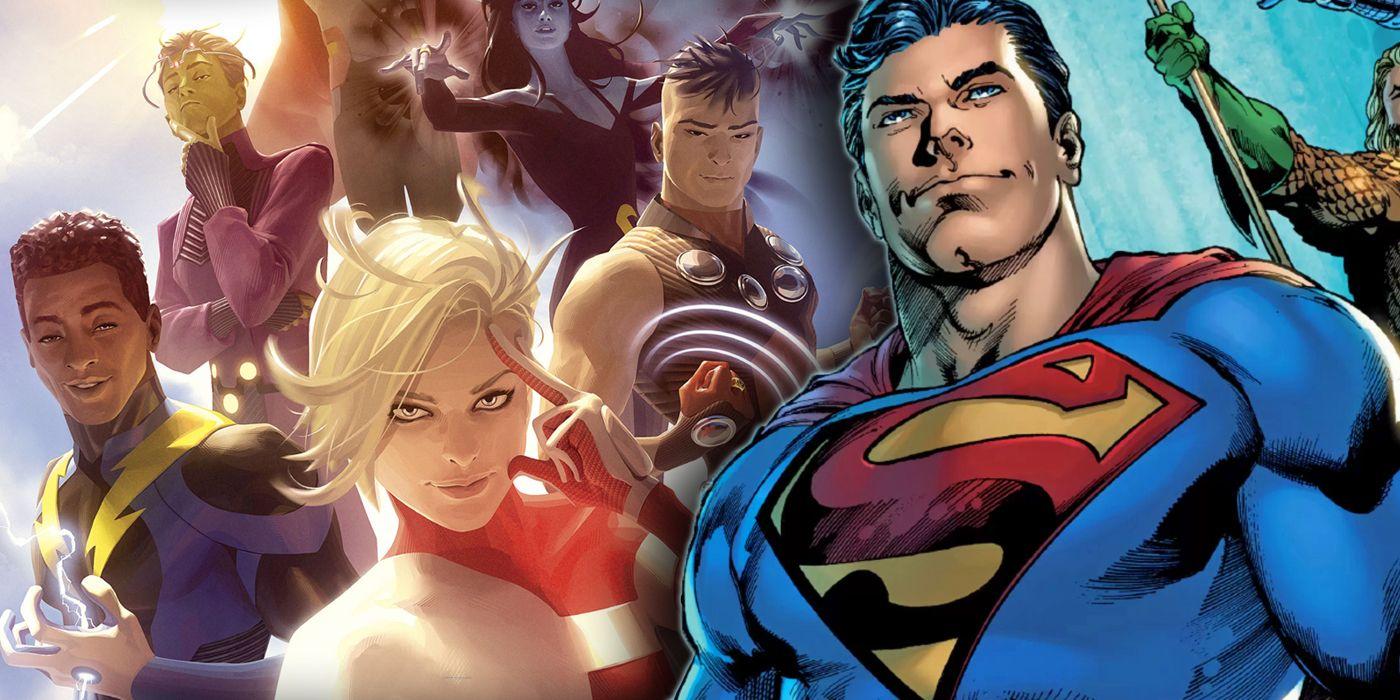 Hình ảnh Superman và đồng đội