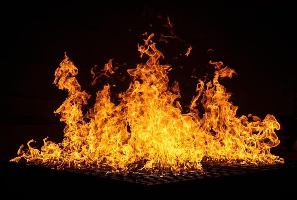 Hình ảnh về đốm lửa cháy