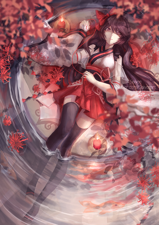 Hoa bỉ ngạn Anime đơn giản mà đẹp