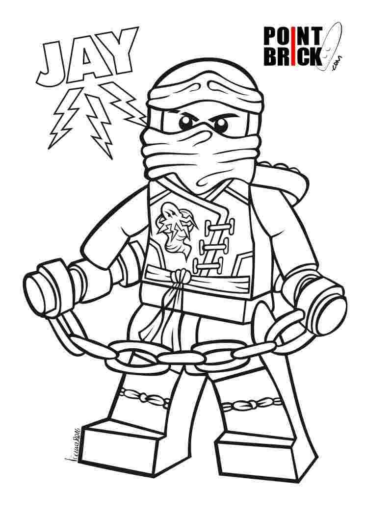 Tranh tô màu ninjago cực kỳ đẹp
