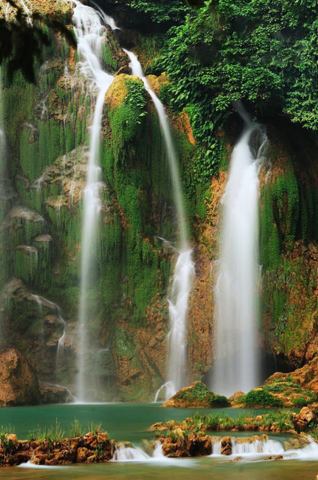 Ảnh đẹp thác nước chảy