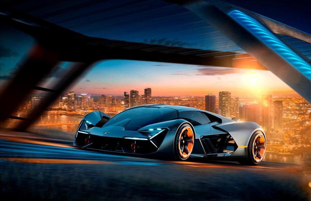 Ảnh đẹp xe Lamborghini điện