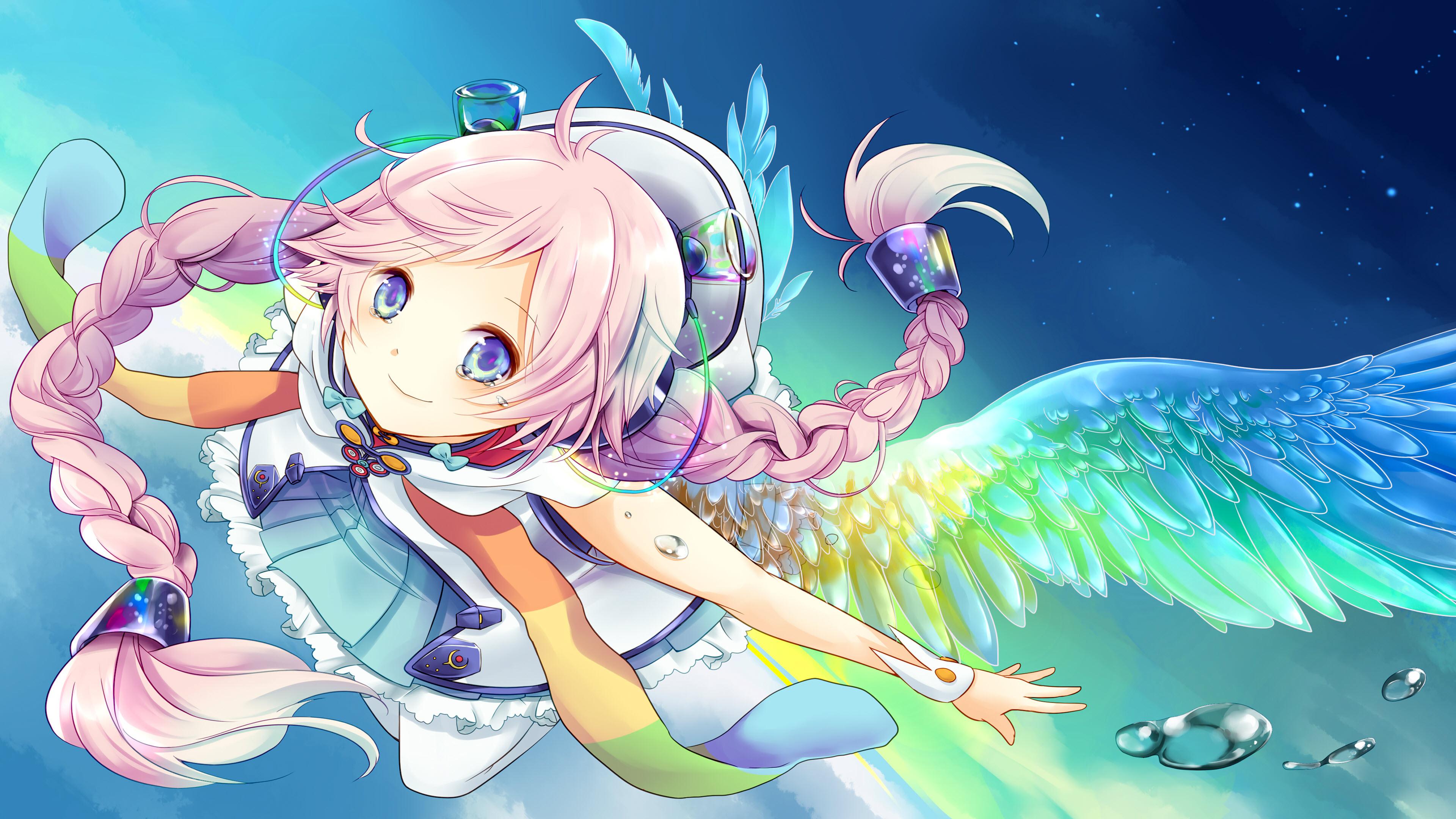 Ảnh nền 4K anime girl