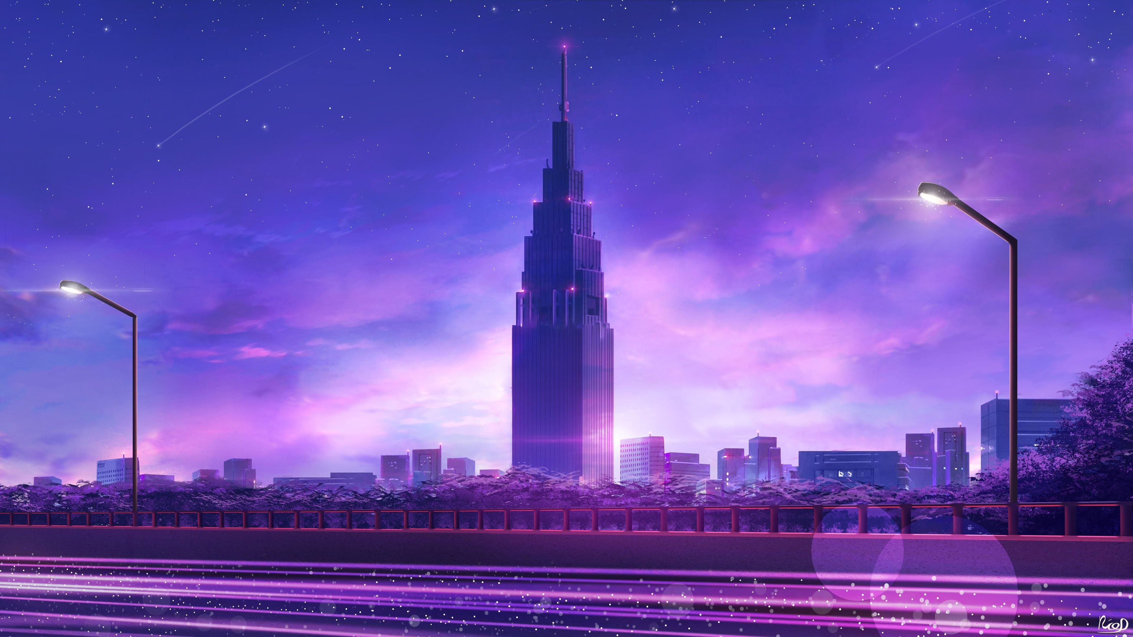 Ảnh nền anime 4K đẹp nhất