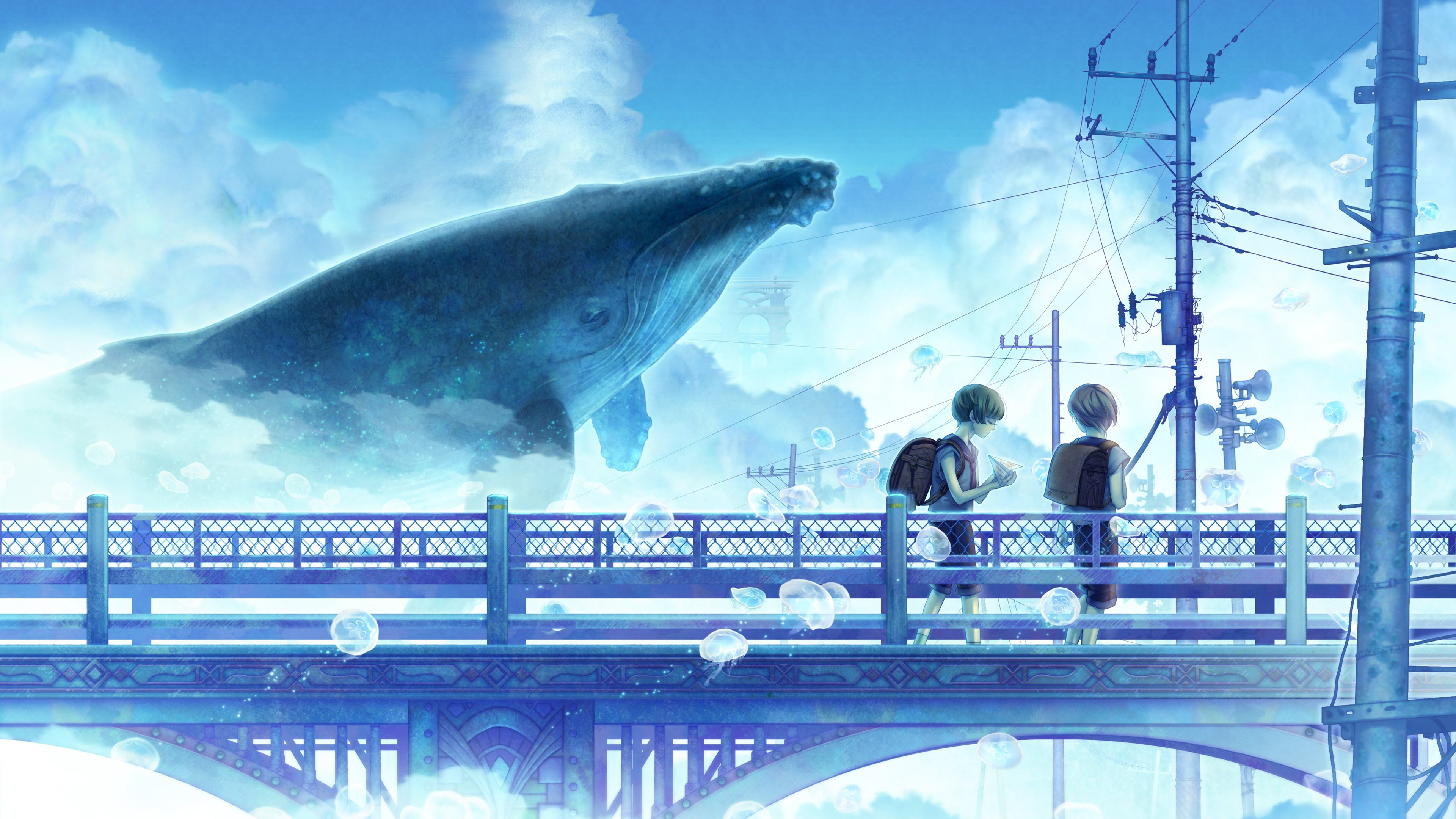 Ảnh nền anime đẹp 4K