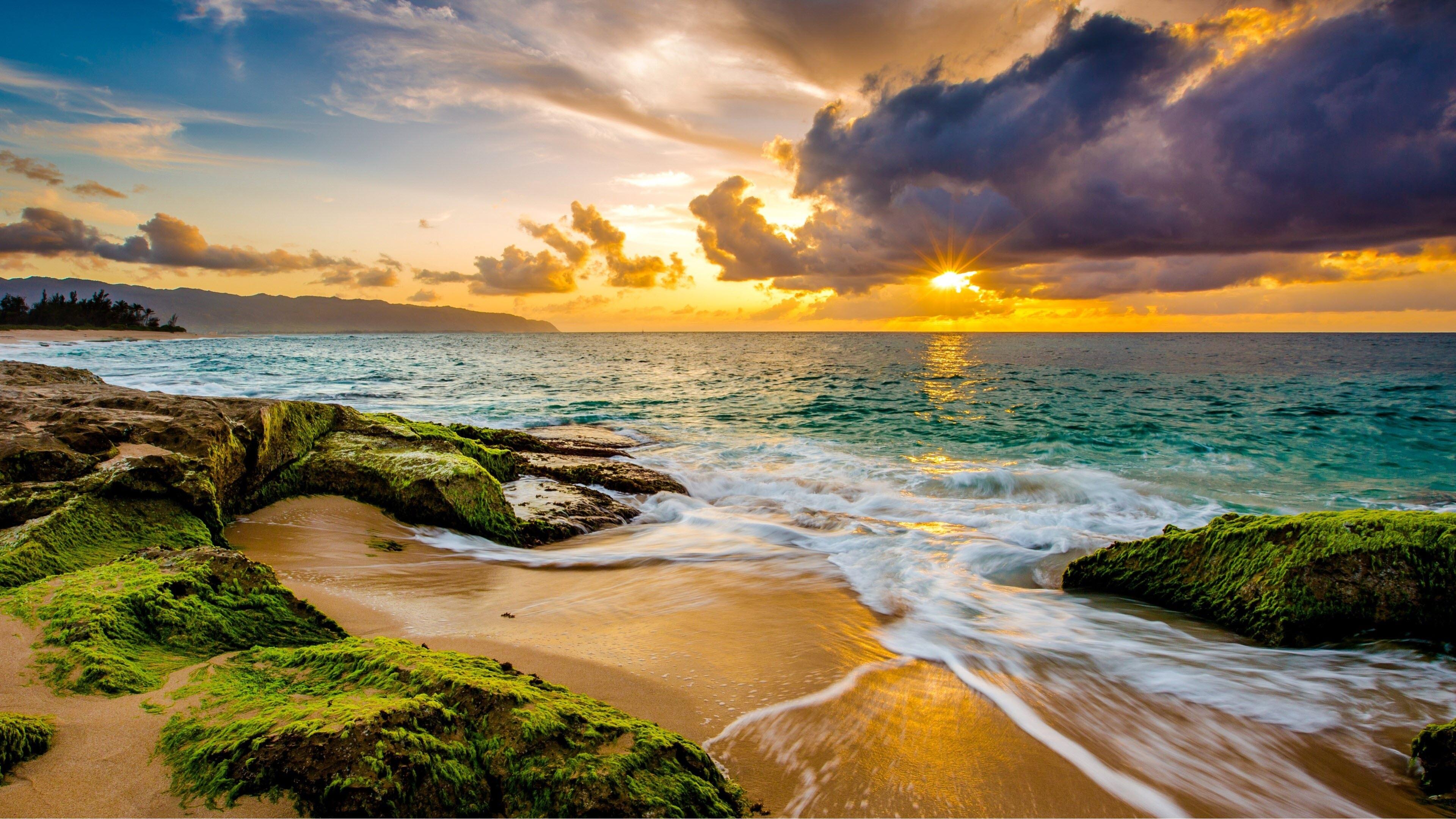 Ảnh nền bãi biển 4K