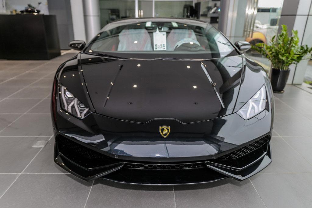 Ảnh siêu xe Lamborghini màu đen