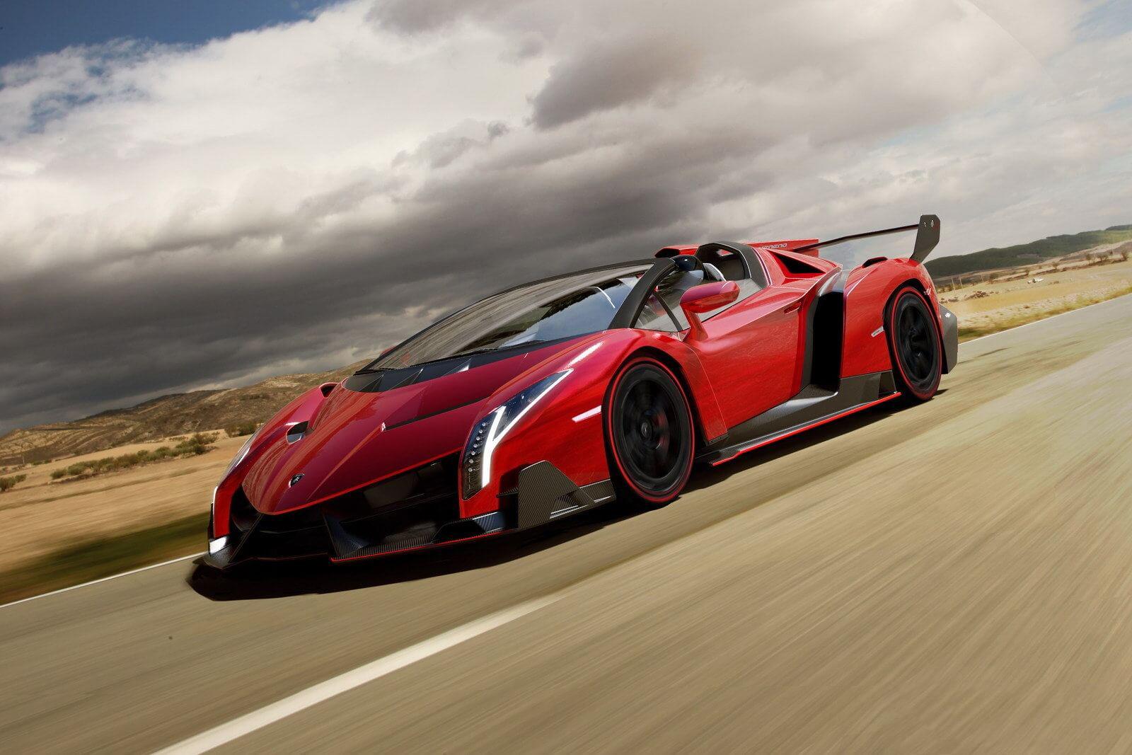 Ảnh siêu xe Lamborghini veneno đẹp