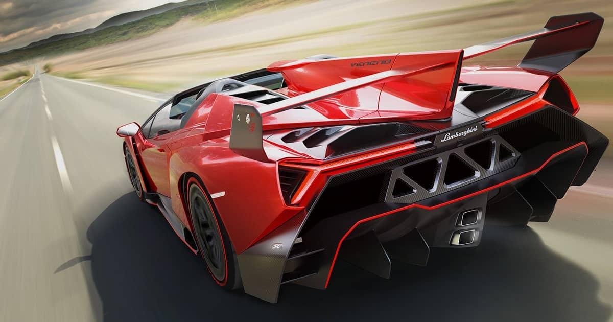 Ảnh siêu xe Lamborghini veneno
