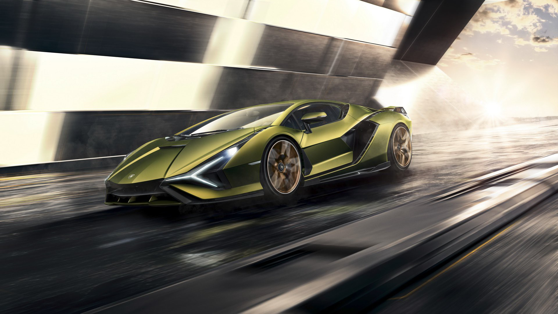 Ảnh xe Lamborghini làm hình nền