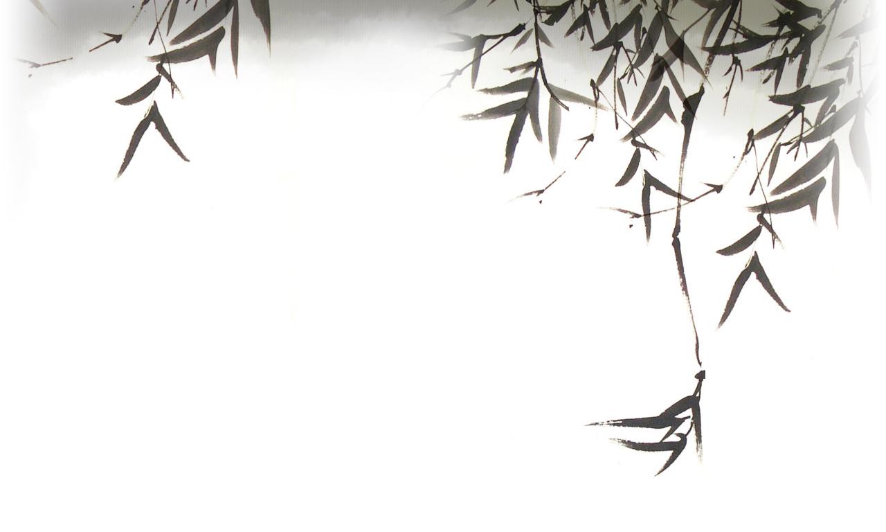 Background cổ trang đen trắng