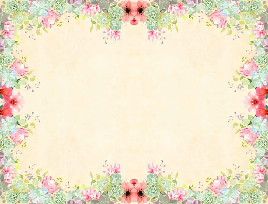 Background hoa cổ điển đẹp