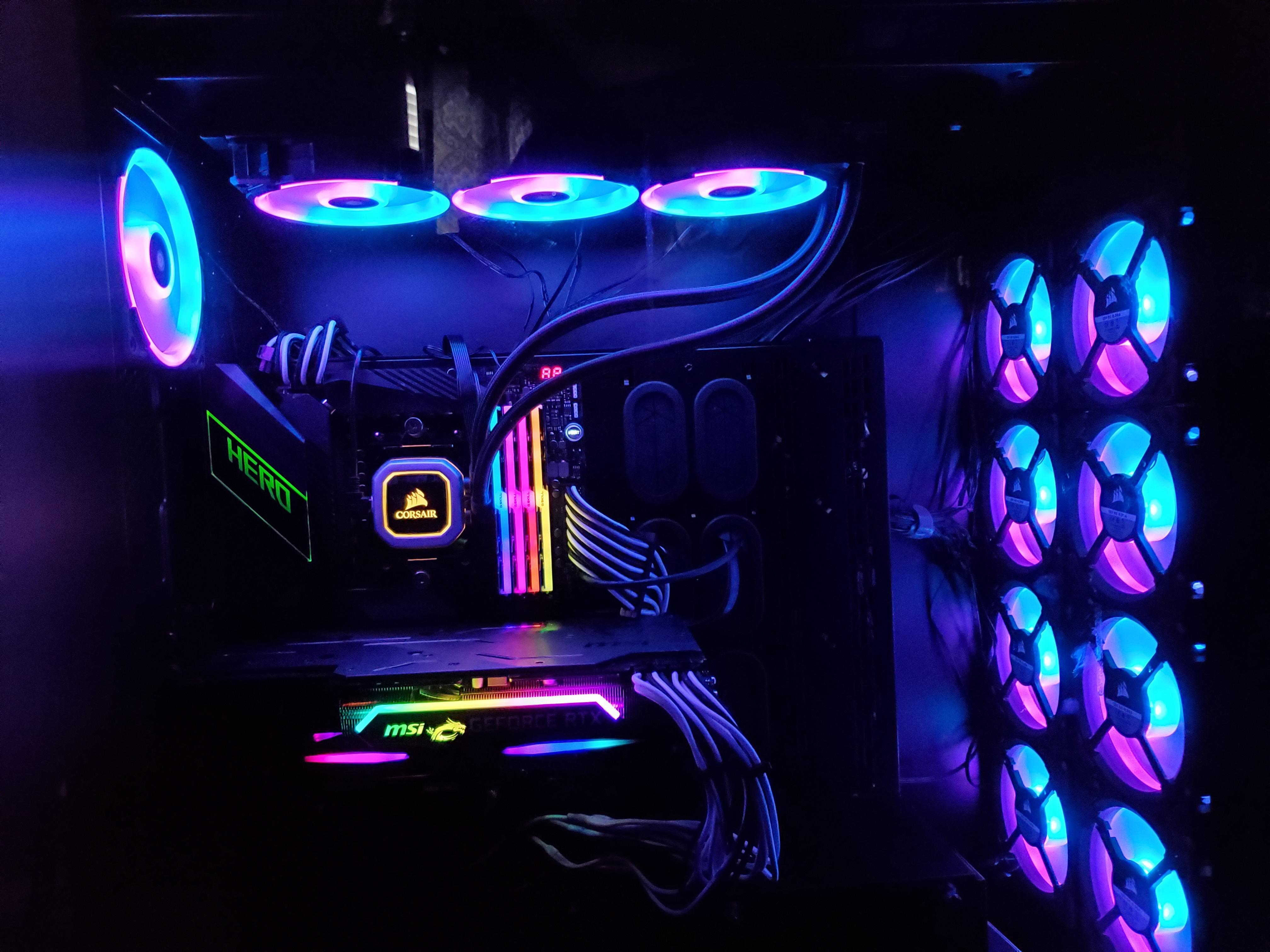 Dàn PC khủng và đẹp