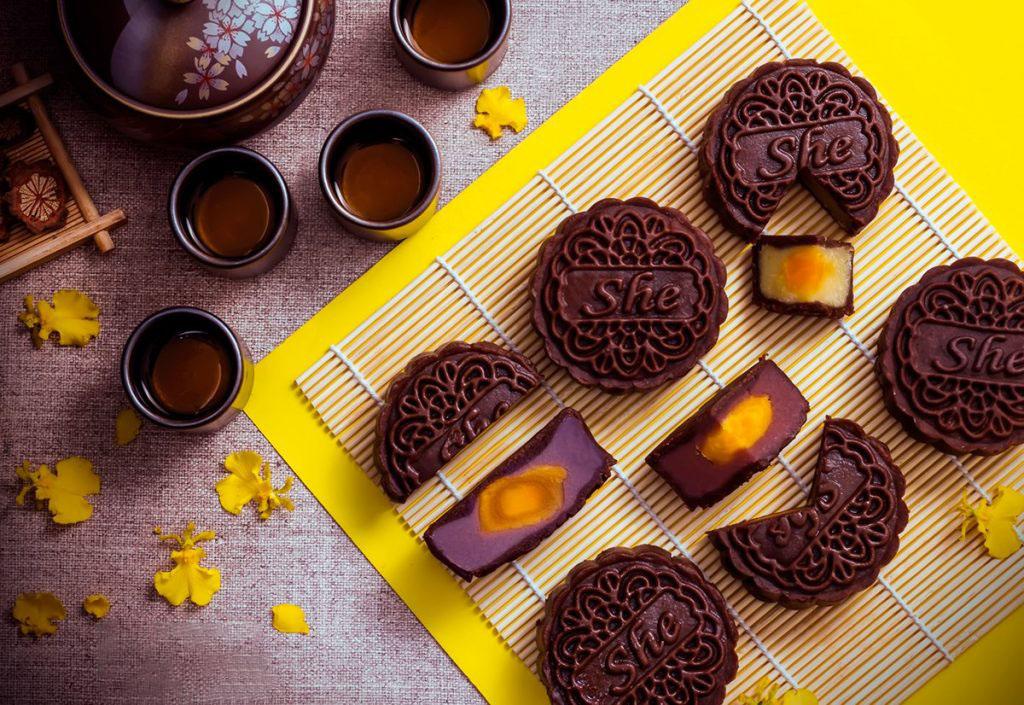 Hình ảnh bánh nướng socola
