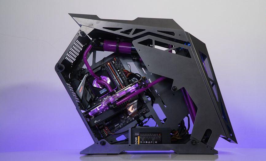 Hình ảnh dàn PC cực khủng mà đẹp