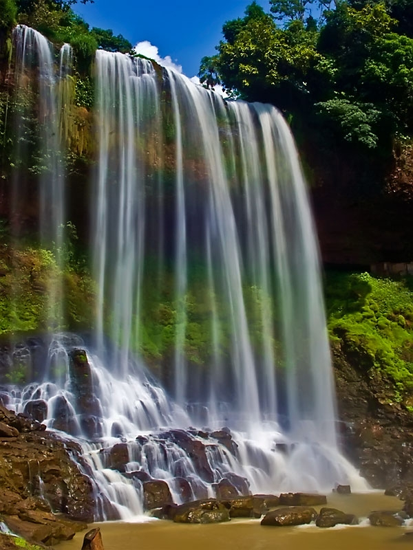 Hình ảnh dòng thác nước