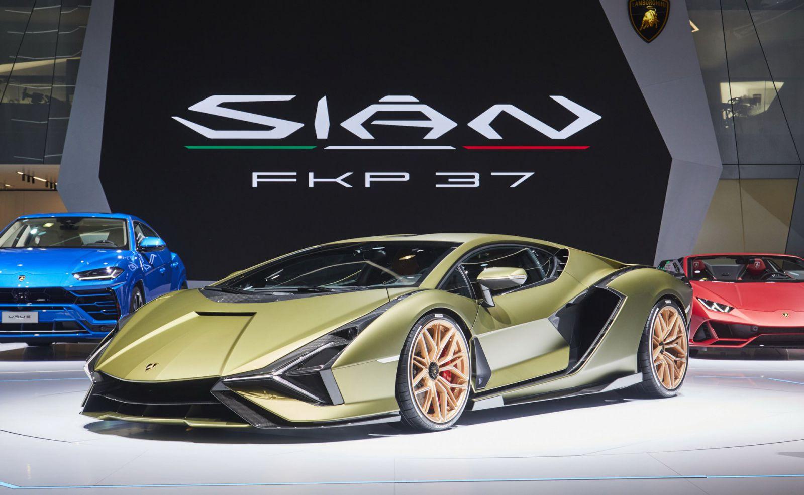 Hình ảnh Lamborghini sian