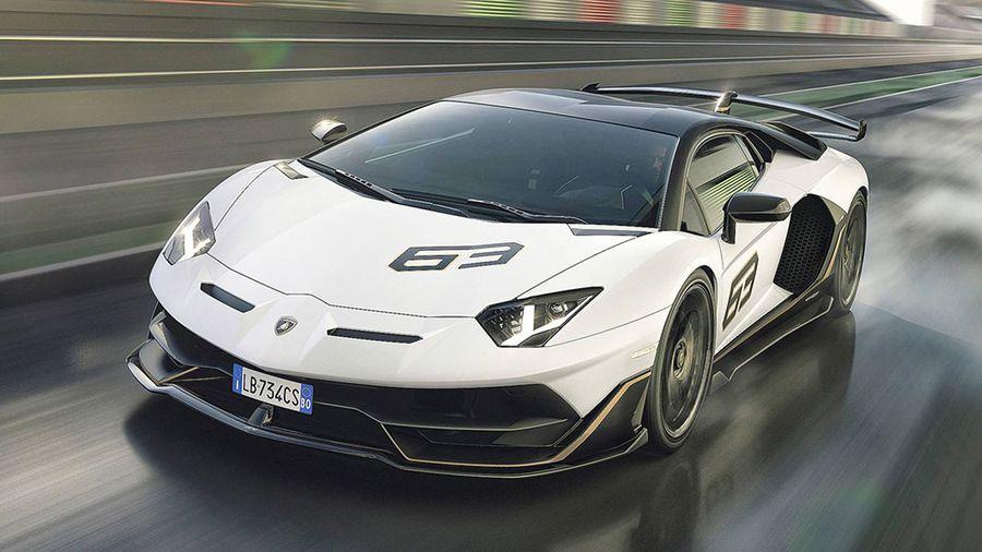 Hình ảnh Lamborghini trắng