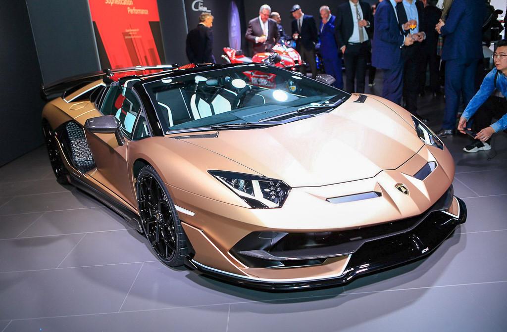 Hình ảnh siêu xe Lamborghini SVJ triển lãm