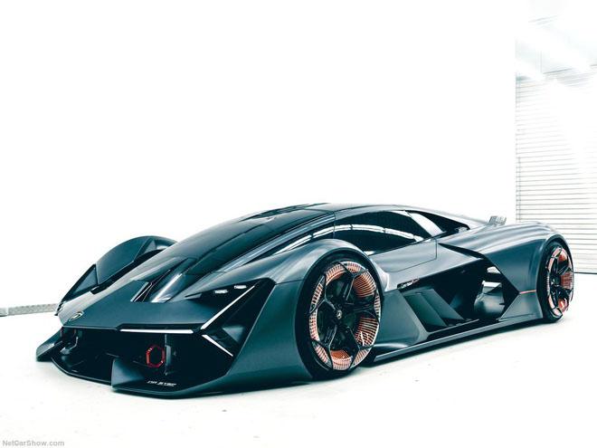 Hình ảnh siêu xe Lamborghini terzo
