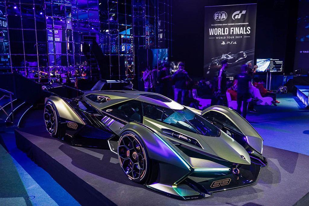 Hình ảnh siêu xe Lamborghini triển lãm