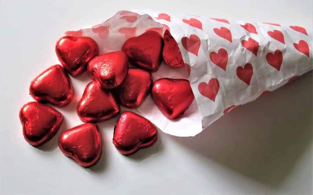 Hình ảnh socola cho valentine