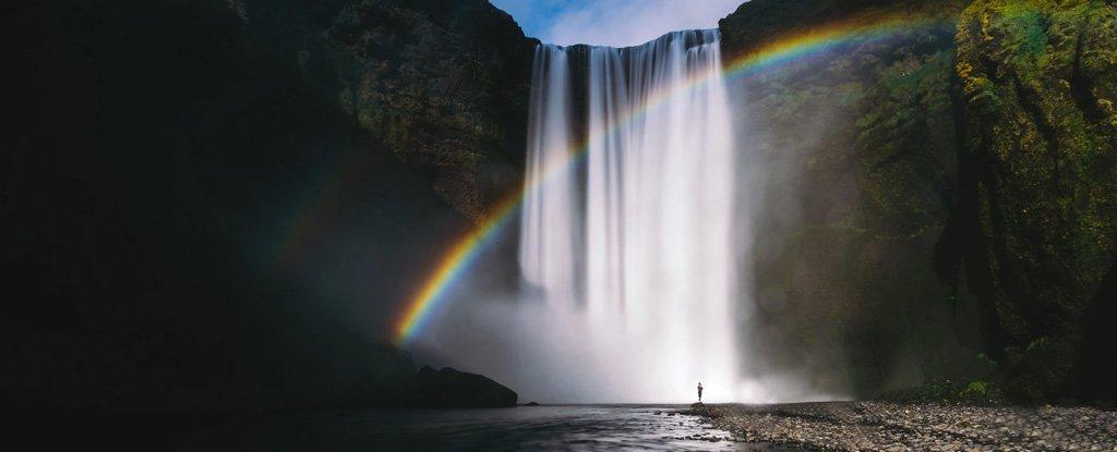 Hình ảnh thác nước cầu vồng đẹp