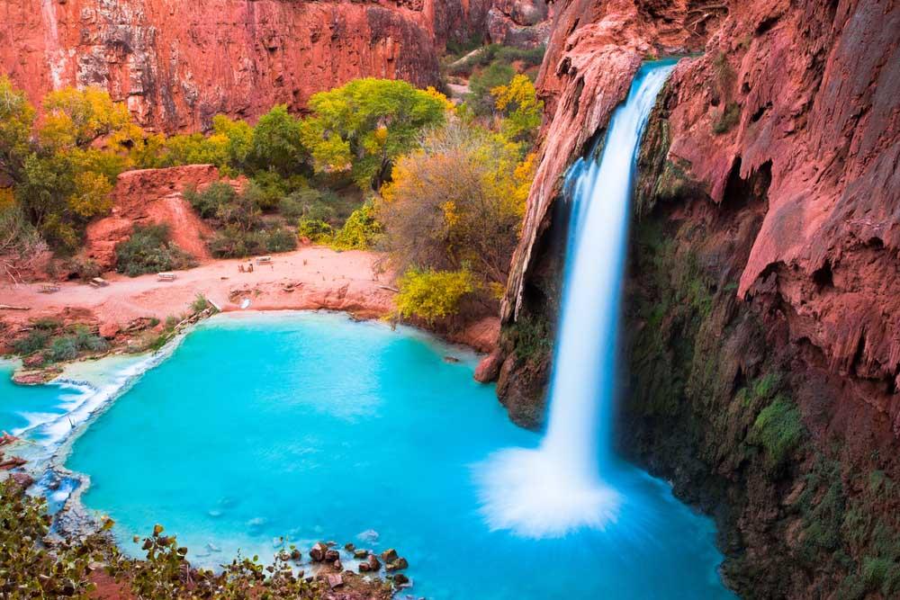 Hình ảnh thác nước chảy đẹp nhất