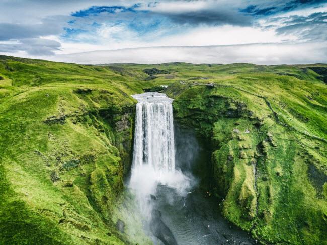 Hình ảnh thác nước choáng ngợp