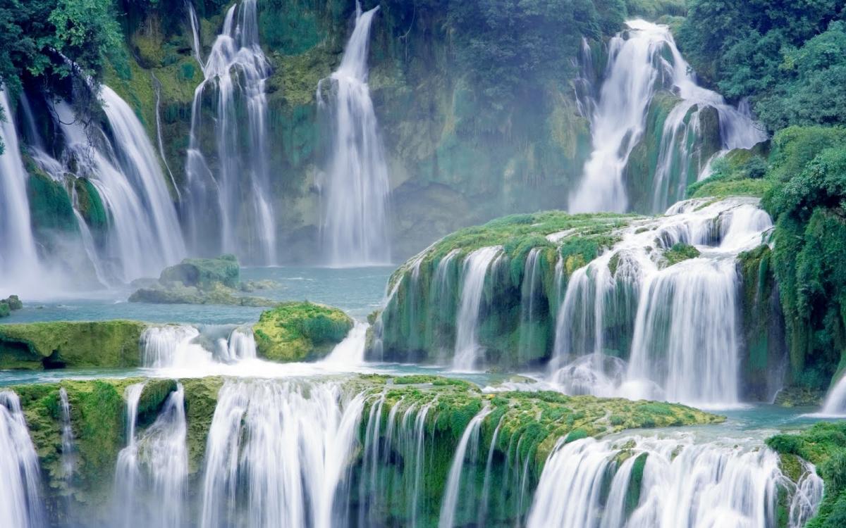 Hình ảnh thác nước hùng vĩ đẹp