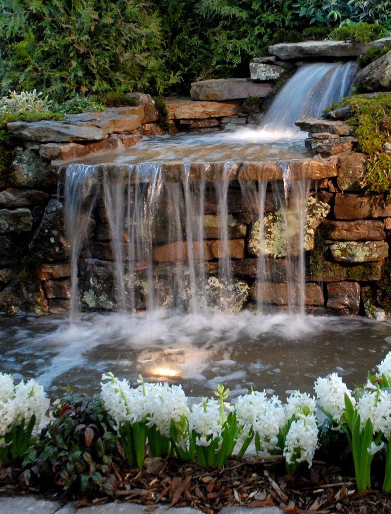 Hình ảnh thác nước nhân tạo đẹp