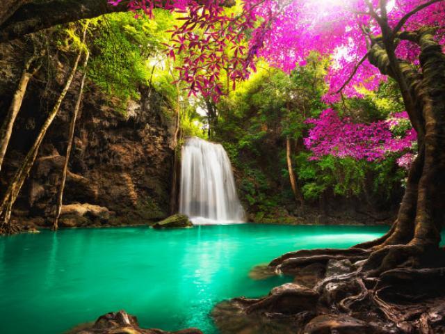 Hình ảnh thác nước tự nhiên đẹp nhất
