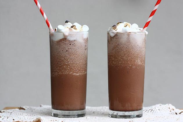 Hình ảnh trà sữa socola đẹp