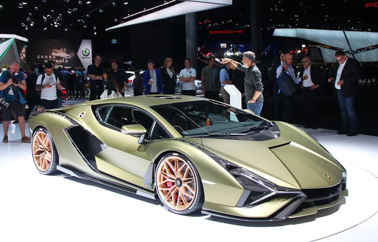 Hình ảnh xe điện Lamborghini