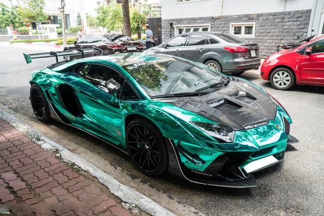 Hình ảnh xe độ Lamborghini