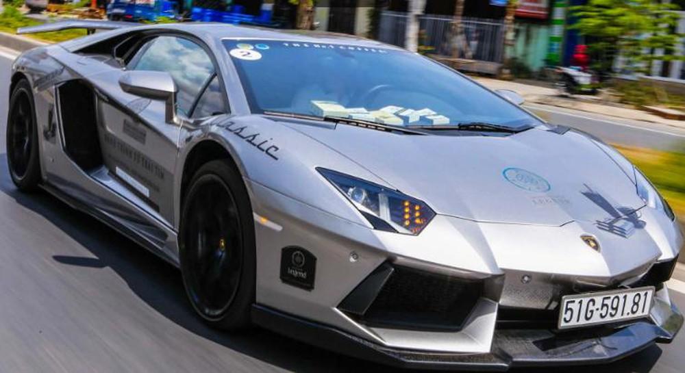 Hình ảnh xe Lamborghini ở Việt Nam