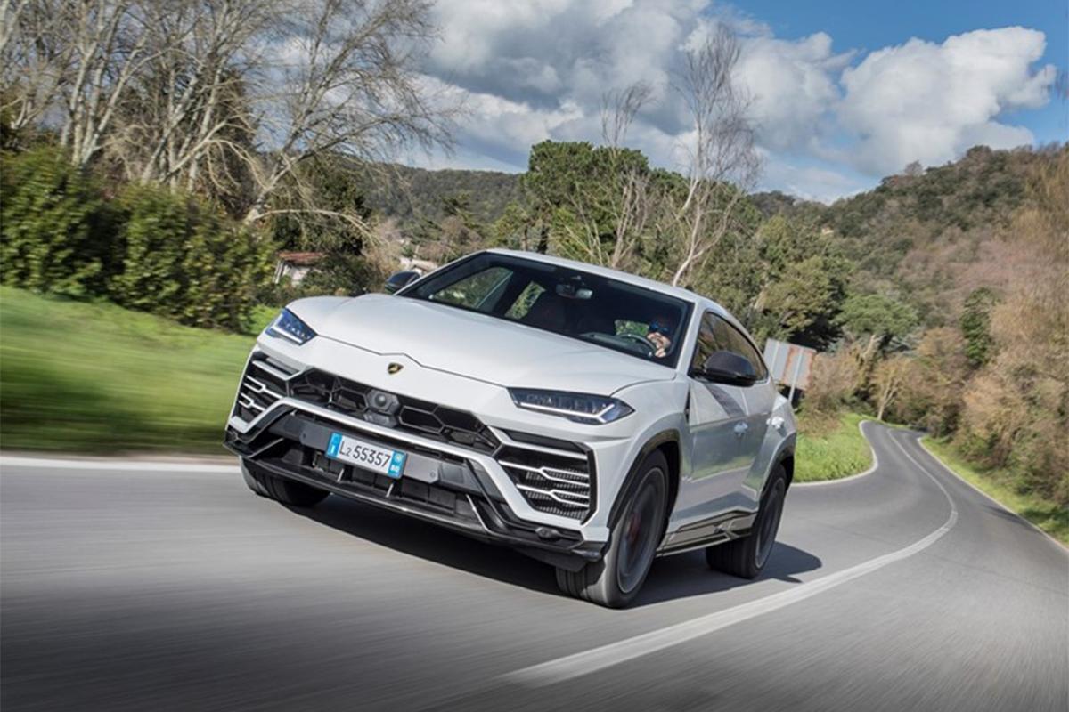 Hình ảnh xe Lamborghini urus