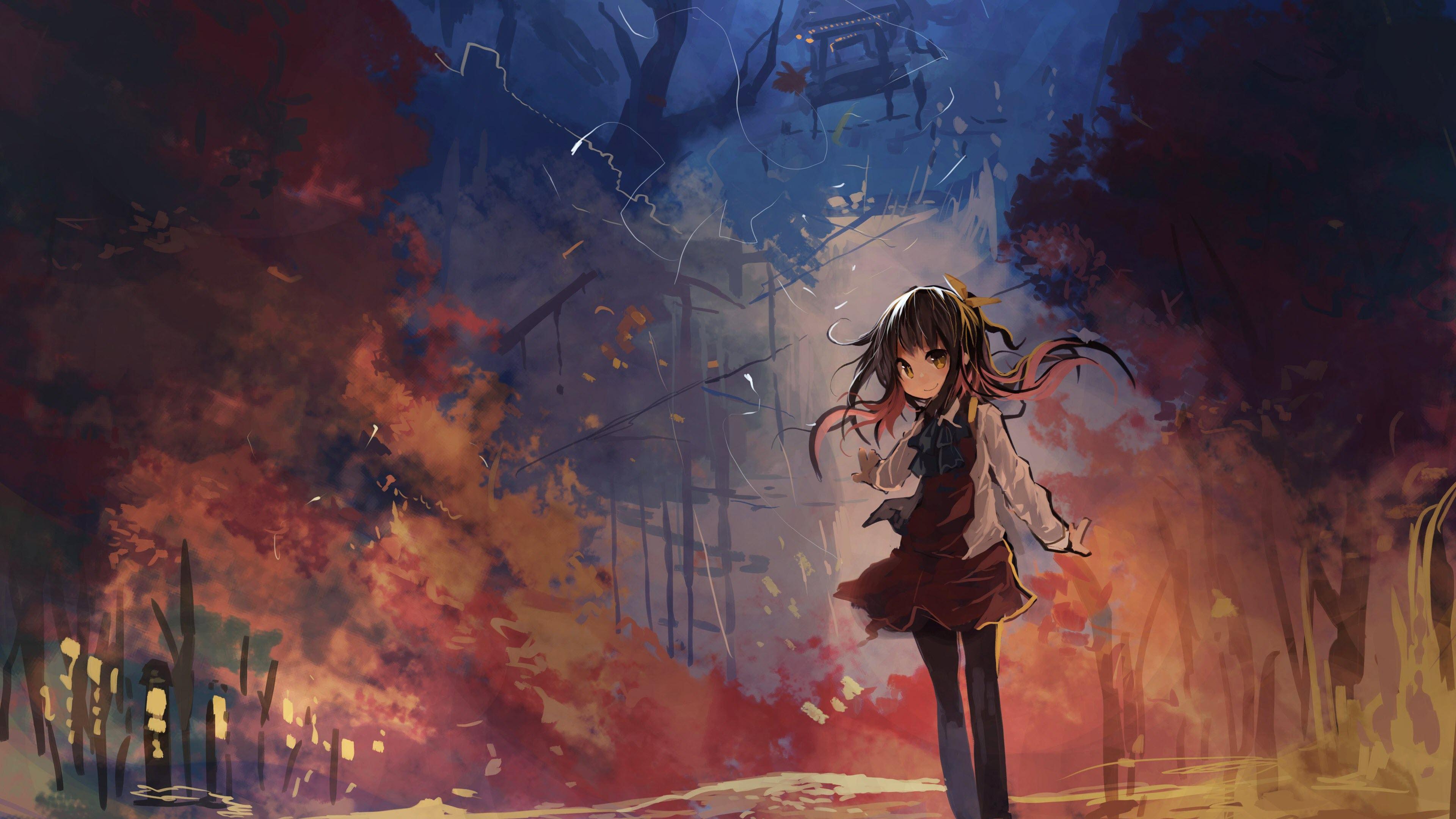 Hình nền anime chibi