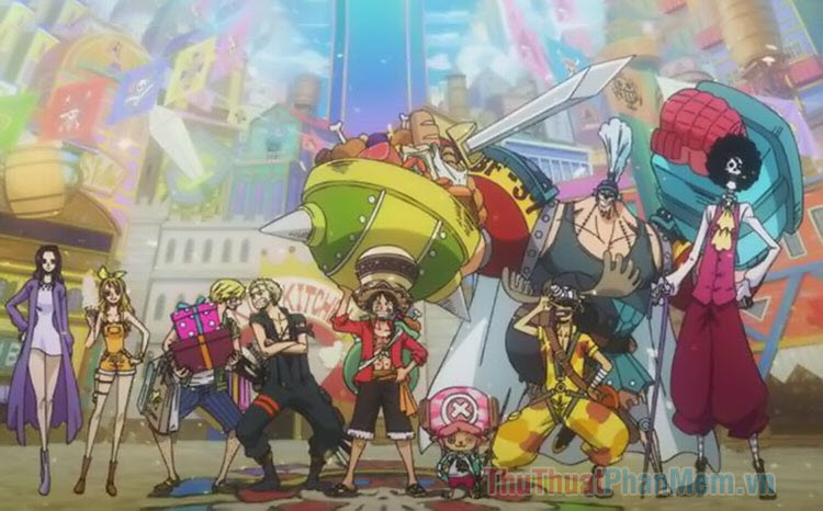 Danh sách nhân vật chính trong One Piece