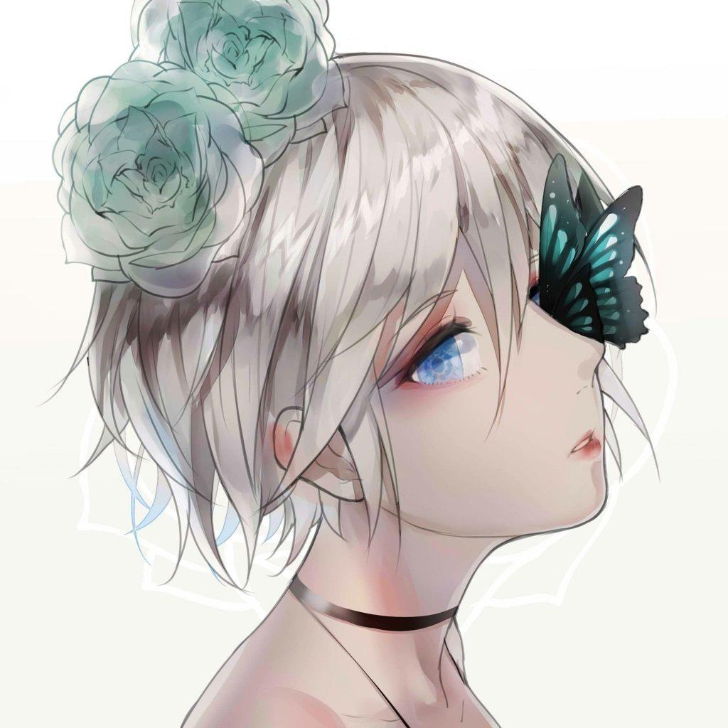 Hình ảnh anime girl ngầu