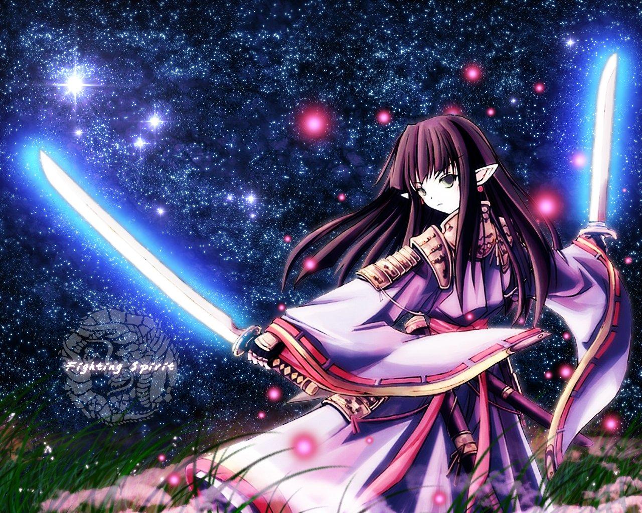 Hình ảnh anime nữ ngầu nhất