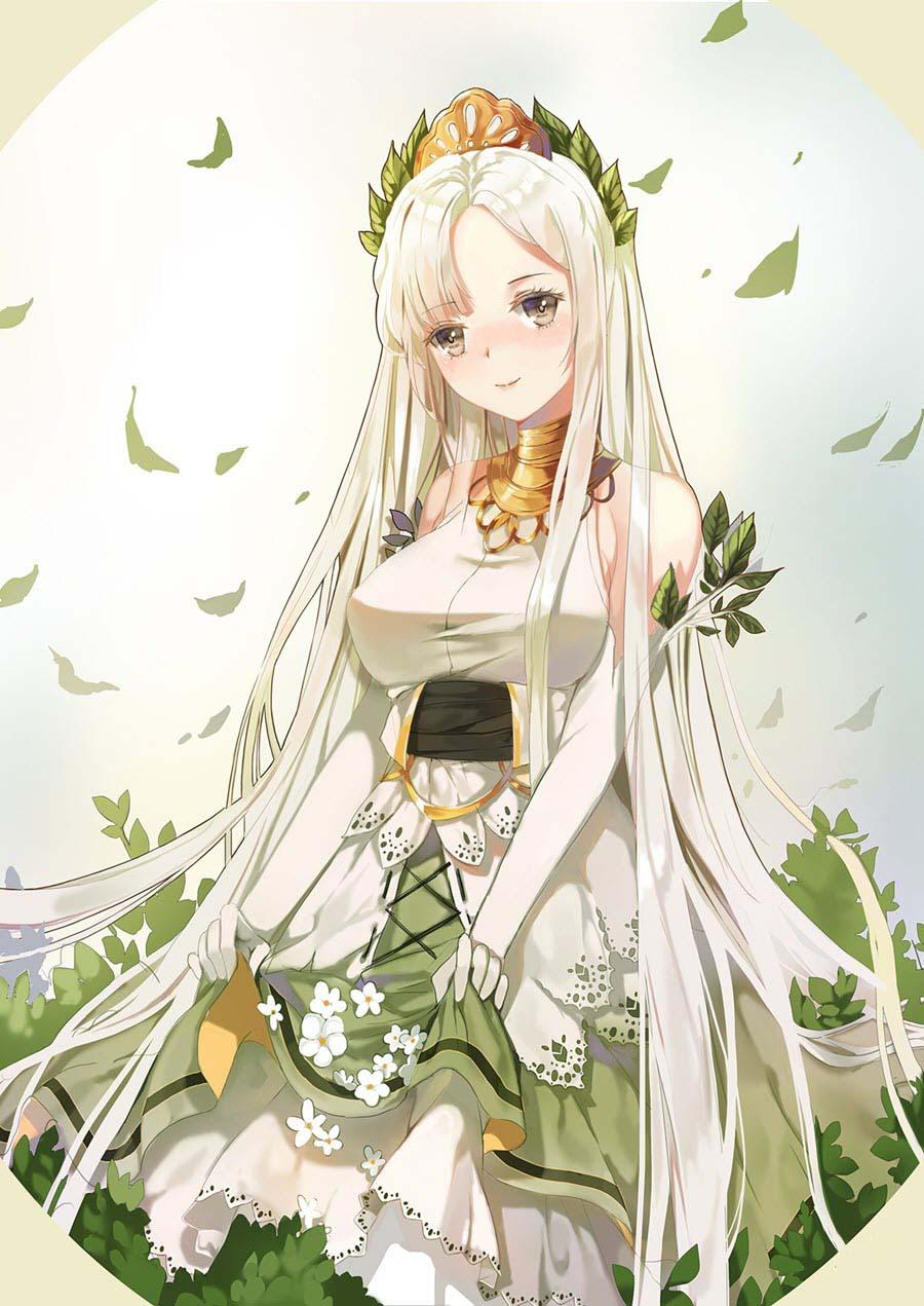 Hình ảnh anime nữ ngầu và duyên dáng