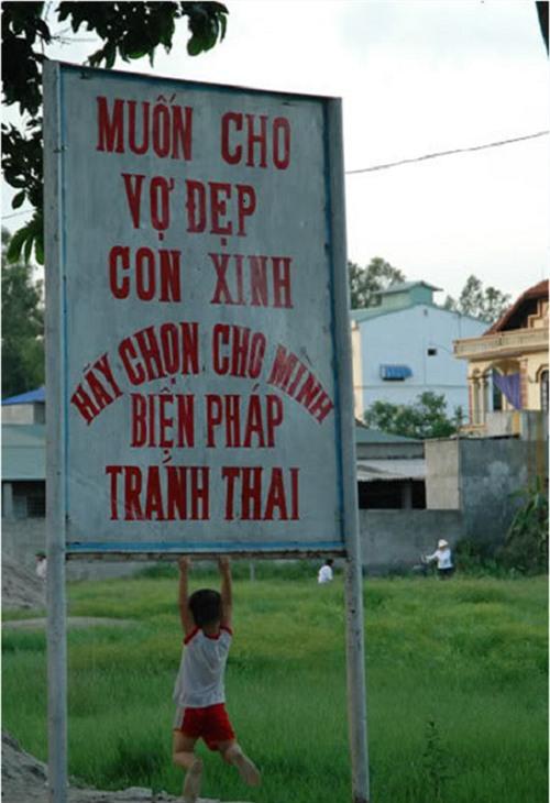 Hình ảnh buồn cười chỉ có ở Việt Nam