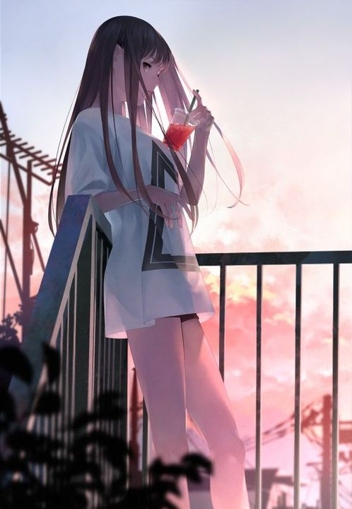Hình ảnh đẹp về anime girl ngầu
