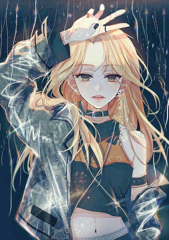 Hình anime nữ cool ngầu