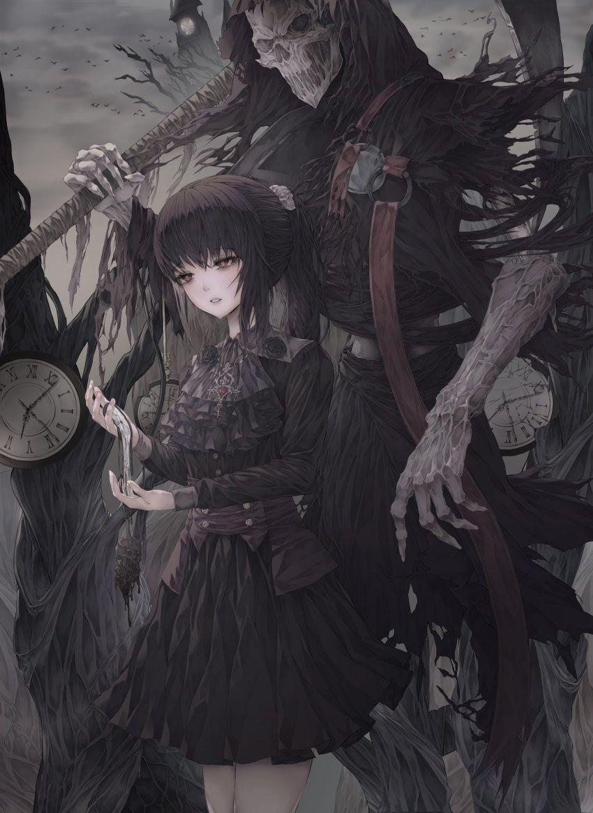 Hình anime nữ ngầu lạnh lùng