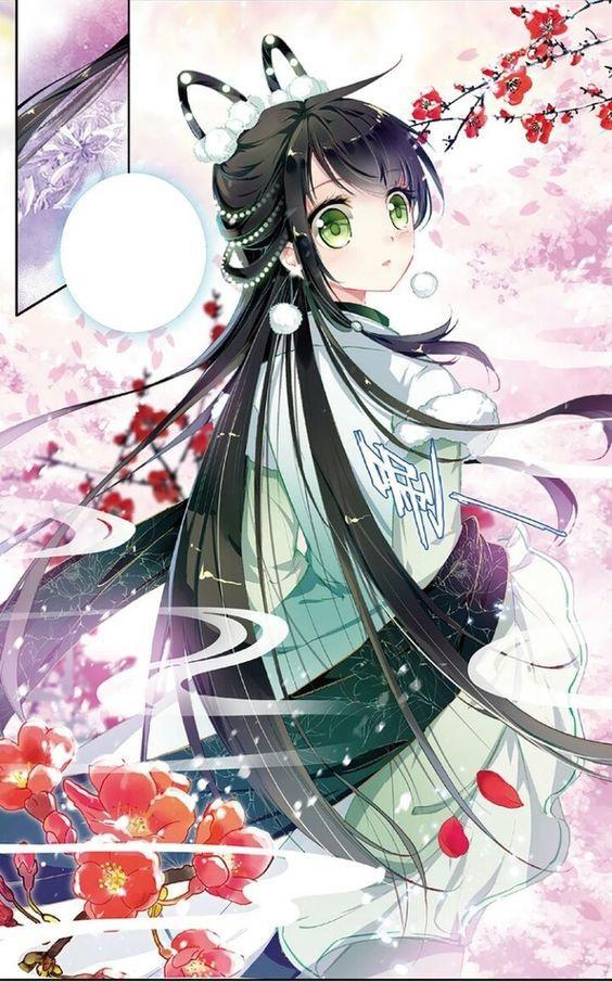 Hình anime nữ ngầu