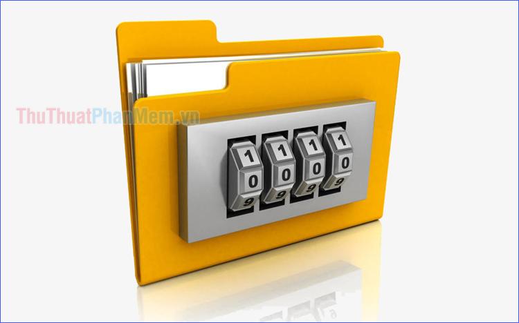 Cách đặt mật khẩu cho File, Folder