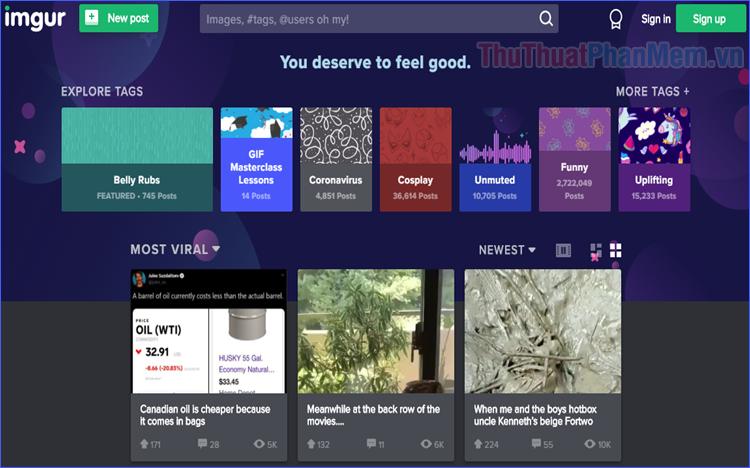 Hướng dẫn sử dụng Imgur - Công cụ chia sẻ ảnh online tốt nhất